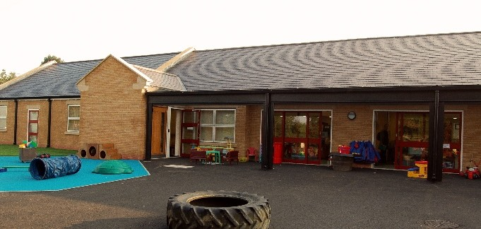 An image of the EYFS unit